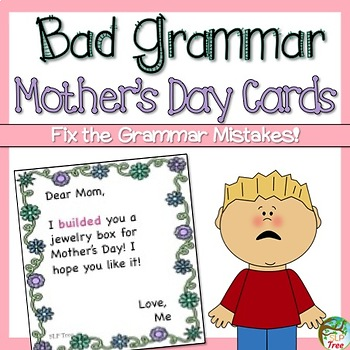 Bad Grammar Mother's Day Cards