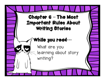 Bad Kitty Drawn to Trouble - No Copies Needed Reading Instruction!