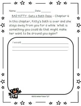 Bad Kitty: Gets a Bath Literature Guide (Common Core)