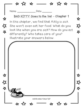 Bad Kitty: Goes to the Vet Literature Guide (Common Core)