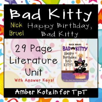 Bad Kitty: Happy Birthday, Bad Kitty Literature Guide (Com