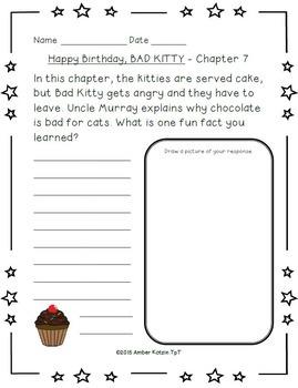 Bad Kitty: Happy Birthday, Bad Kitty Literature Guide (Common Core)