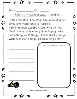 Bad Kitty: School Daze Literature Guide (Common Core)