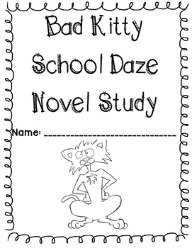 Bad Kitty Trip to the Vet by Nick Bruel Literature Unit