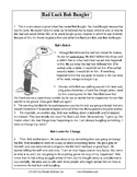 Texas Staar Reading - Bad Luck Bob Bungler
