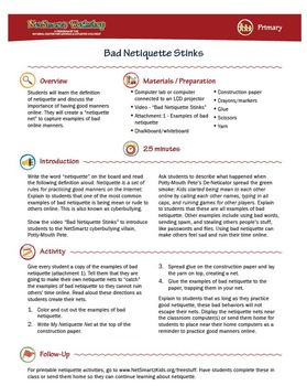Bad Netiquette Stinks; Online Manners