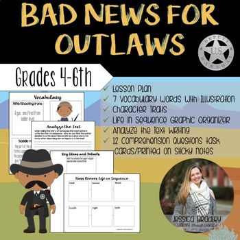 Bad News For Outlaws - Reading Lessons & Activites