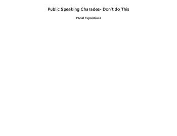 Bad Presentation Charades