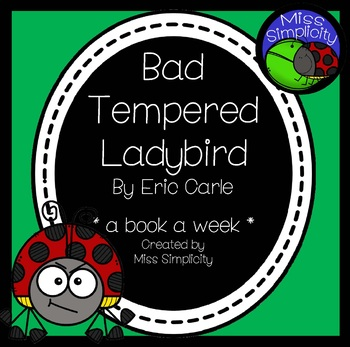 Bad-Tempered Ladybird ~ A week of reading activities