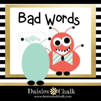 Bad Words Poem