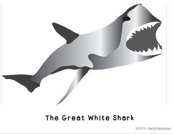 Baddest of the Shark World-Great White Shark and Tiger Shark