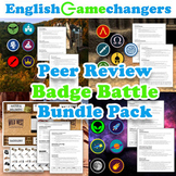 Badge Battle BUNDLE Peer Review Games: Any Level, Any Content