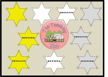 Badge Clipart - Sherriff & Officer {The Clipart Zoo}