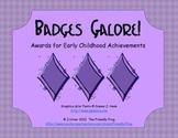 Badges Galore! (brag tags)
