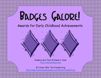 Badges Galore! (brag tags)