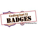 Badges - Library Skills: Coding (set 1)