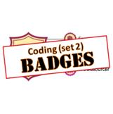 Badges - Library Skills: Coding (set 2)