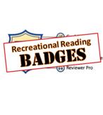 Badges - Library Skills: Recreational Reading
