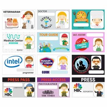 Badges Professions
