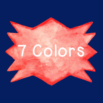 Badges Watercolor Clip Art PNG JPG Commercial or Personal