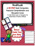 Baditude Julia Cook Book Companion Resource Discussion cards Create Your Own Sto