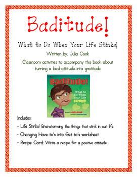 Baditude What To Do When Your Life Stinks By Jennifer Tracy Tpt