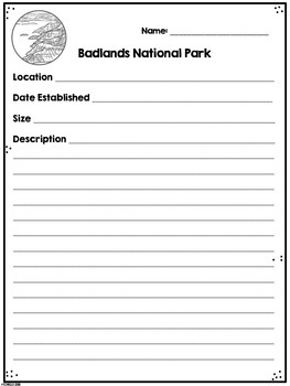 Badlands National Park Research Project