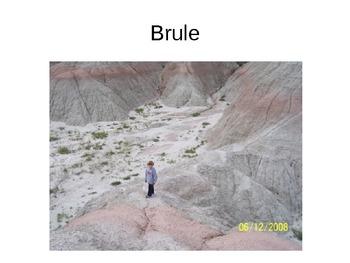 Badlands Stratigraphy