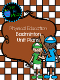 Badminton Unit Plans