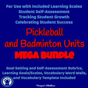 Pickleball and Badminton Units MEGA Bundle