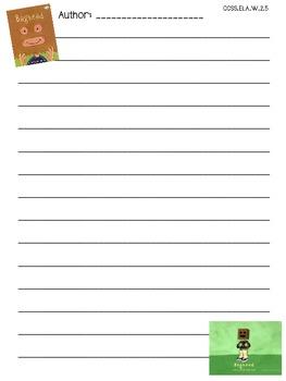 """""""Bag Head"""" by Jarrett J. Krosoczka Final Draft Writing Paper"""