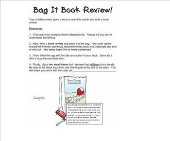 Bag It Book Review