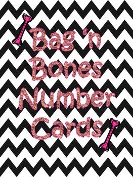 Bag 'n Bones Number Cards