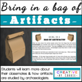 Bring in a Bag of Artifacts!  Students learn about archaeo