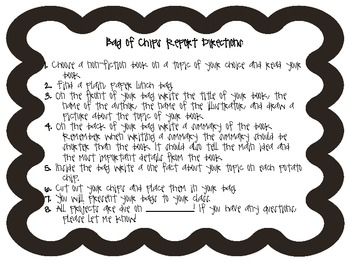 Bag of Chips Nonfiction Report