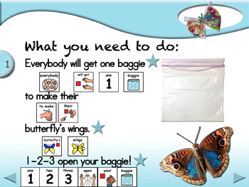 Baggie Butterflies - Animated Step-by-Step Craft PCS