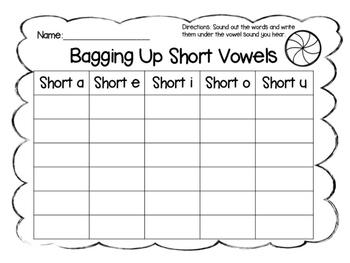 Bagging Up Short Vowels