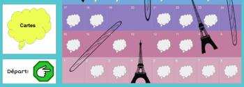 Baguettes et Tours Eiffels Gameboard