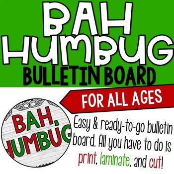 Bah Humbug/A Christmas Carol Bulletin Board