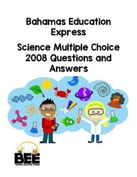 Bahamas Junior Certificate (BJC) 2008 Multiple Choice