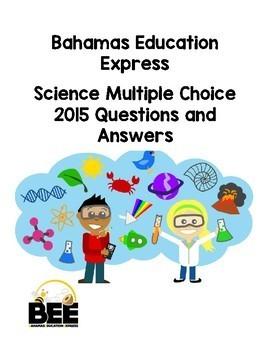 Bahamas Junior Certificate (BJC) 2015 Multiple Choice