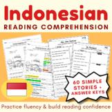 Bahasa Indonesia Reading Comprehension Bundle (NO PREP)