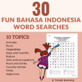 Indonesian Word Search Puzzles (Word Sleuth) | answer keys