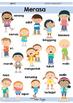 Bahasa Indonesia Poster Pack | Indonesian Vocab
