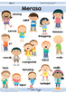 Bahasa Indonesia Poster Pack | Indonesian Vocab