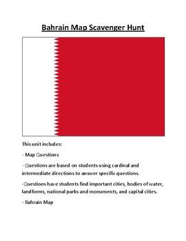 Bahrain Map Scavenger Hunt