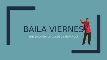 Baila Viernes - Music Activity with Bajo el Mismo Sol by Alvaro Soler