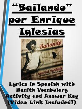 Bailando Song Activity in Spanish