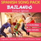 Bailando by Enrique Iglesias: Cognates, Gerunds, Infinitive and Present Verbs