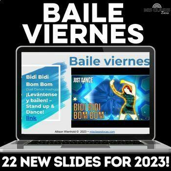 Para Empezar: Baile viernes! Dance in Spanish class